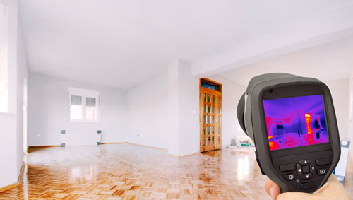 Home and pest inspection using thermal cameras in Melbourne